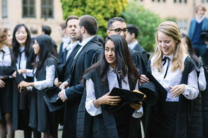 Graduation - Nuffield College Oxford University