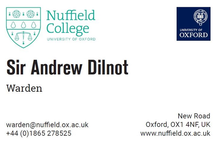 Business card request form nuffield college oxford university form for business cards reheart Choice Image