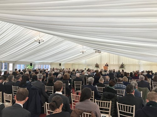Attendees at the Memorial Event for Sir Tony Atkinson